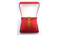 Tượng Thiên Chúa ba ngôi cao sang đúc từ vàng khối