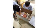 Gửi muối tôm đi Mỹ, bánh tráng trộn đi Mỹ giá cước rẻ - 0902994908 Quỳnh