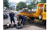 Dịch vụ thông tắc hút bể phốt đúng giá tại Ba Đình