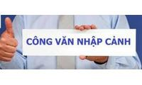 Công văn nhập cảnh vào Việt Nam 6 tháng, 1 năm nhiều lần DN, DL