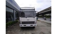 Đại lý bán xe tải FAW 7.3 tấn thùng bạt 6m2 động cơ Hyundai Model 2018