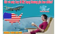 Nên đặt vé máy bay Vietnam Airlines đi Mỹ ở đâu giá rẻ?