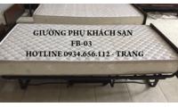 Cung cấp giường phụ khách sạn, extrabed đệm lò xo, giao hàng toàn quốc