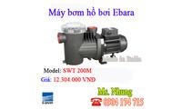 Chuyên phân phối máy bơm hồ bơi Ebara nhập khẩu chính hãng tại TP. HCM