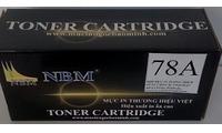 Hộp mực in thương hiệu NBM 78A  thay thế cho Hộp mực HP 78A, HP CE278