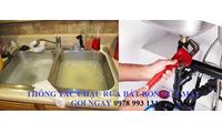 Thông tắc bồn cầu chậu rửa giá rẻ uy tín quận Ba Đình gọi 0978993134