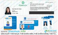 Sản xuất thẻ nhựa nhỏ làm thẻ móc khóa chất liệu nhựa pvc, tốt, bền