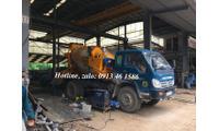 Bồn trộn bê tông HYG3, 3m3 mẻ trộn