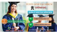 Thời gian nộp hồ sơ học quản lý mầm non tại TPHCM