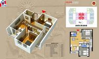 Cần bán gấp căn hộ chung cư Helios 75 Tam Trinh, S 70m2