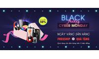 Cơn sốt mua sắm Black Friday trên Shop VnExpress - Free Ship, tặng quà