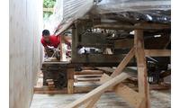 Đóng gói hàng hóa xuất khẩu tại KCN Nội Bài