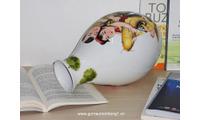 Bình hoa gốm sứ Minh Long, 25cm Ngũ Phúc 50253445