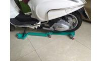 Bệ xoay xe máy cho nhà hẹp