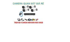 Lắp đặt trọn bộ hệ thống camera giám sát giá rẻ