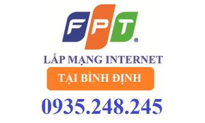 Đăng ký lắp đặt internet FPT Bình Định
