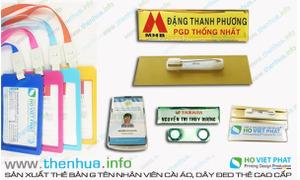 Sản xuất dây đeo thẻ nhân viên chất lượng đẹp, giá rẻ