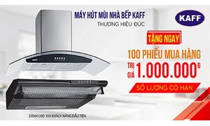 Máy hút mùi bếp (thanh lý 200 bộ, mới 100%)