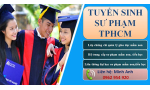 Địa chỉ liên thông đại học sư phạm Tiểu học 2018 ở TPHCM