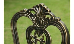 Bộ bàn ghế sân vườn nhôm đúc Vườn An Nam BG-02N