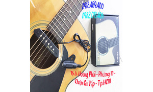 Pickup đàn guitar giá rẻ hút âm thanh đàn guitar không đục thùng