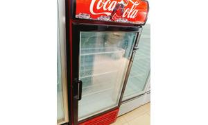 Tủ mát Coca Cola 265L , mới 87%