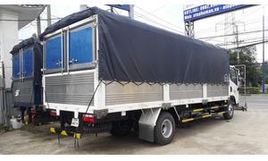 Xe tải faw 7.3 tấn thùng 6m3 máy hyundai nhập khẩu