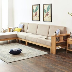2n Furniture Nhận Thiết Kế Thi Cong Ghế Sofa Gỗ Sồi đơn Giản Hiện